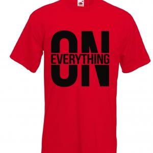 DJ Ktone On Everything Red T-Shirt