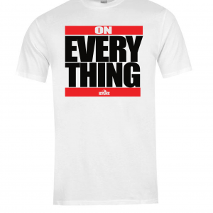 DJ Ktone On Everything White Limited Edition T-Shirt