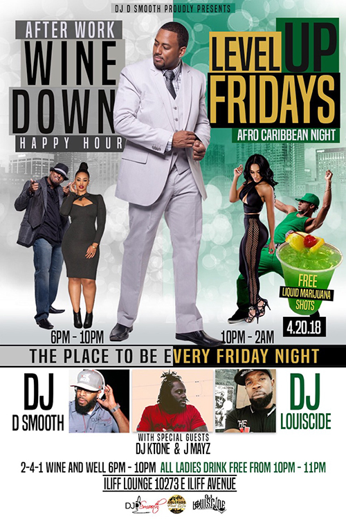 Wine Down Happy Hour / Level Up Friday