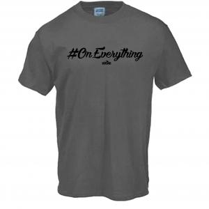 DJ Ktone #OnEverything Grey T-Shirt