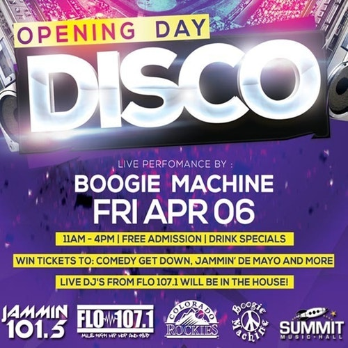 Opening Day Disco feat. Boogie Machine