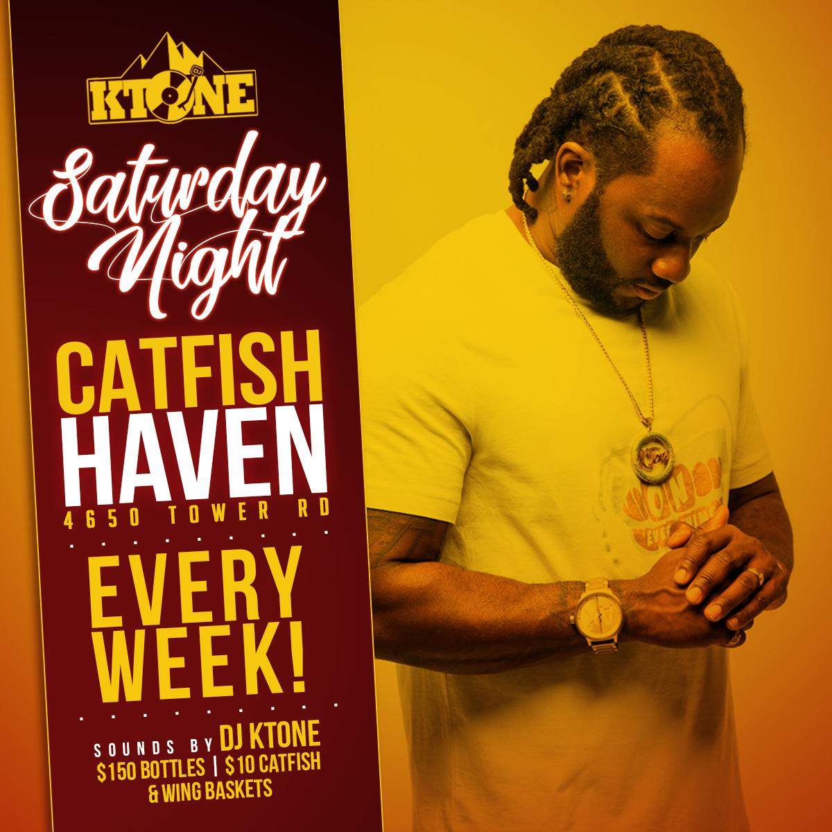 Saturday Night Party at Catfish Haven, Denver Colorado
