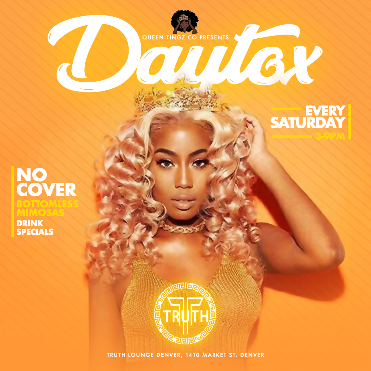 DJ Ktone - Daytox day party every Saturday in Denver, Colorado 2019