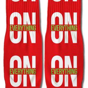 DJ Ktone On Everything Red Socks