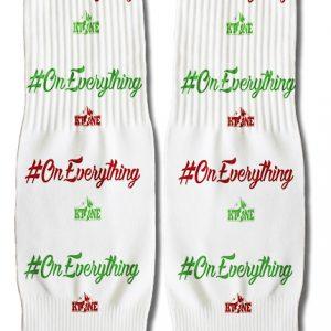 DJ Ktone Xmas Hashtag On Everything Socks