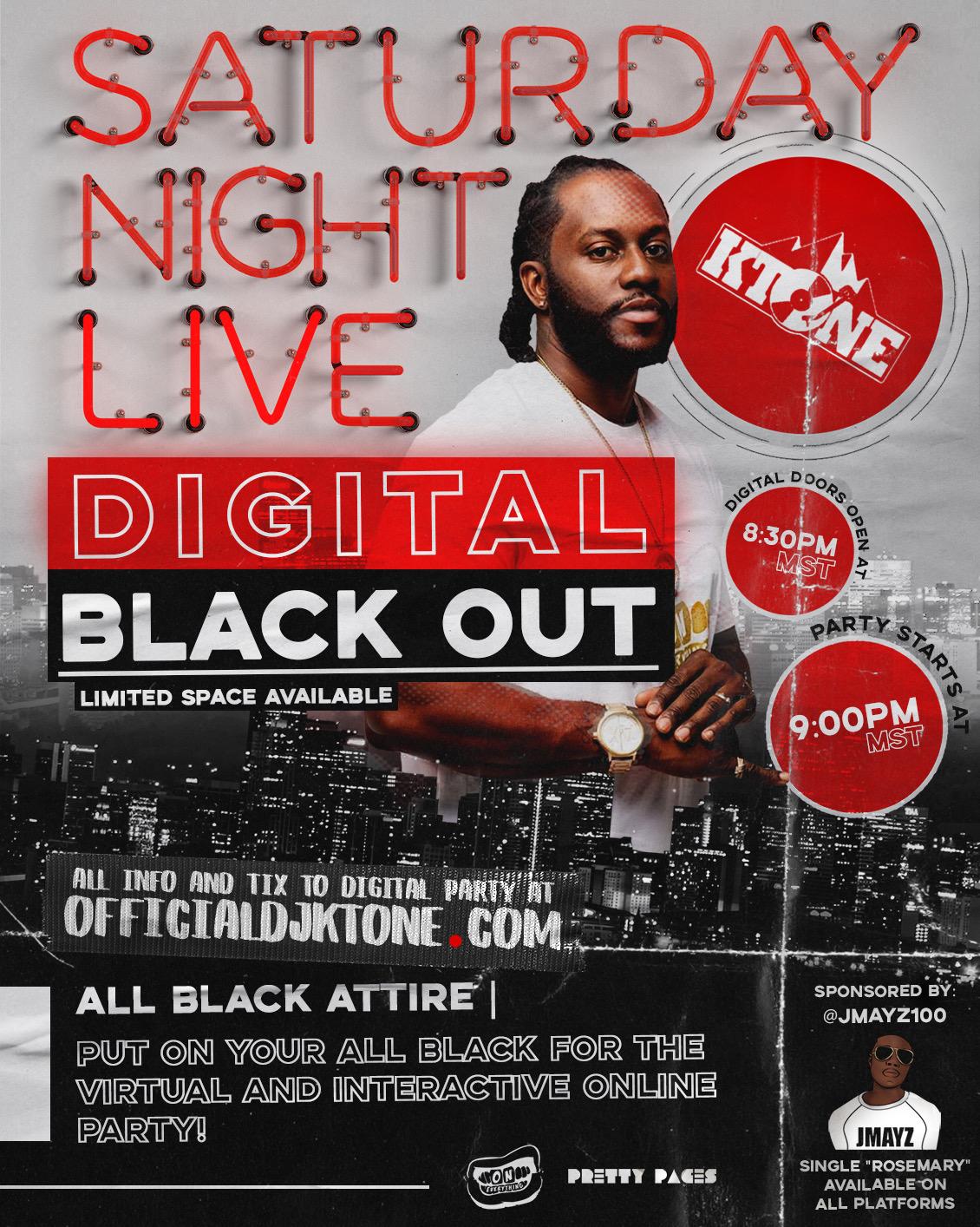 Saturday Night Live Digital Club - Digital Blackout Party April 2020