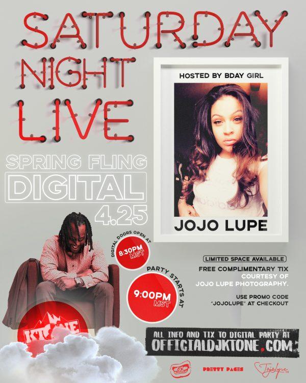 Saturday Night Live Digital Spring Fling Party