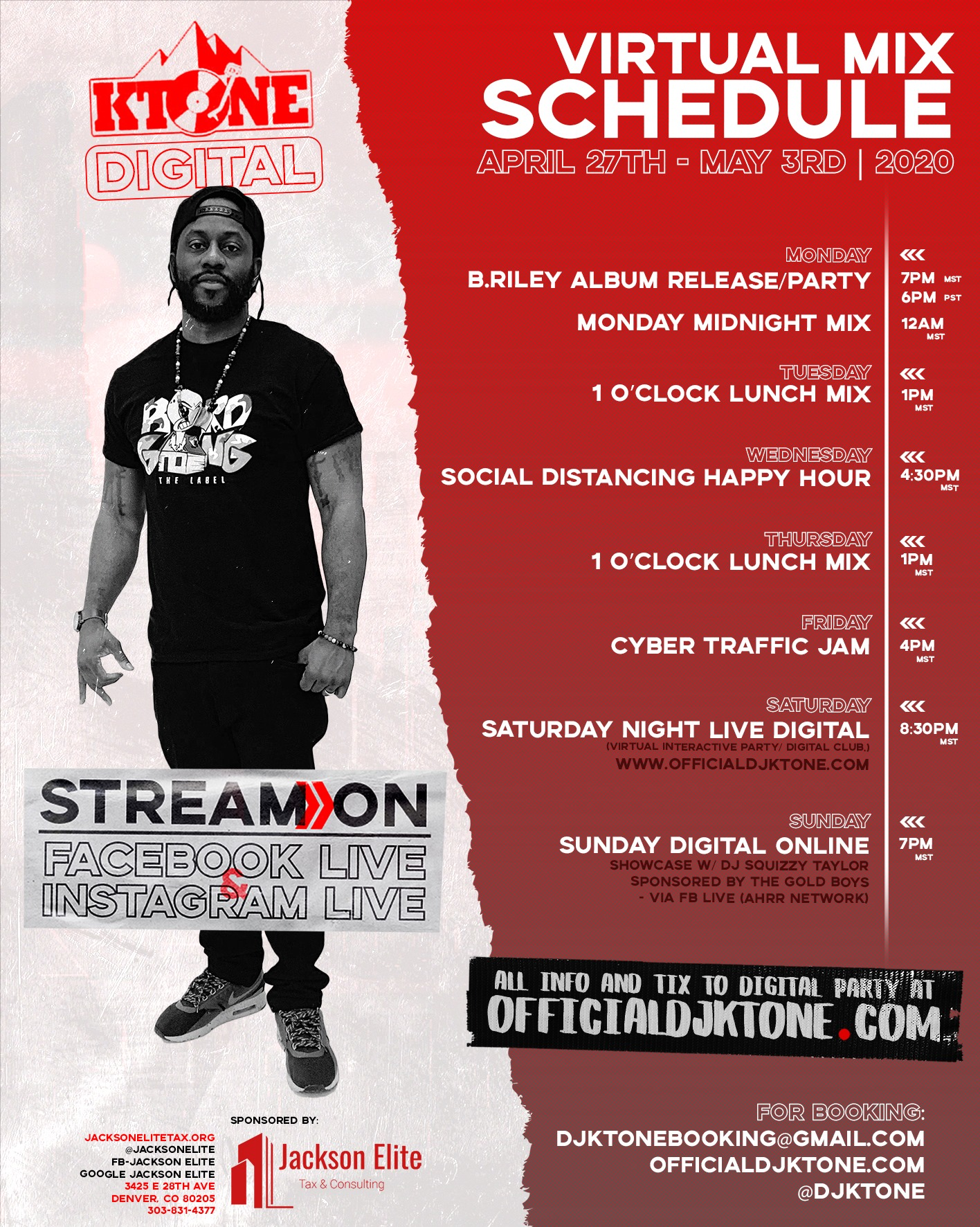 DJ Ktone Virtual Party 2020