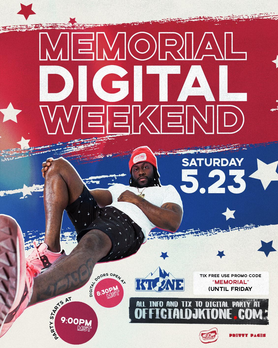 DJ Ktone presents Saturday Night Live Memorial Digital Weekend 2020