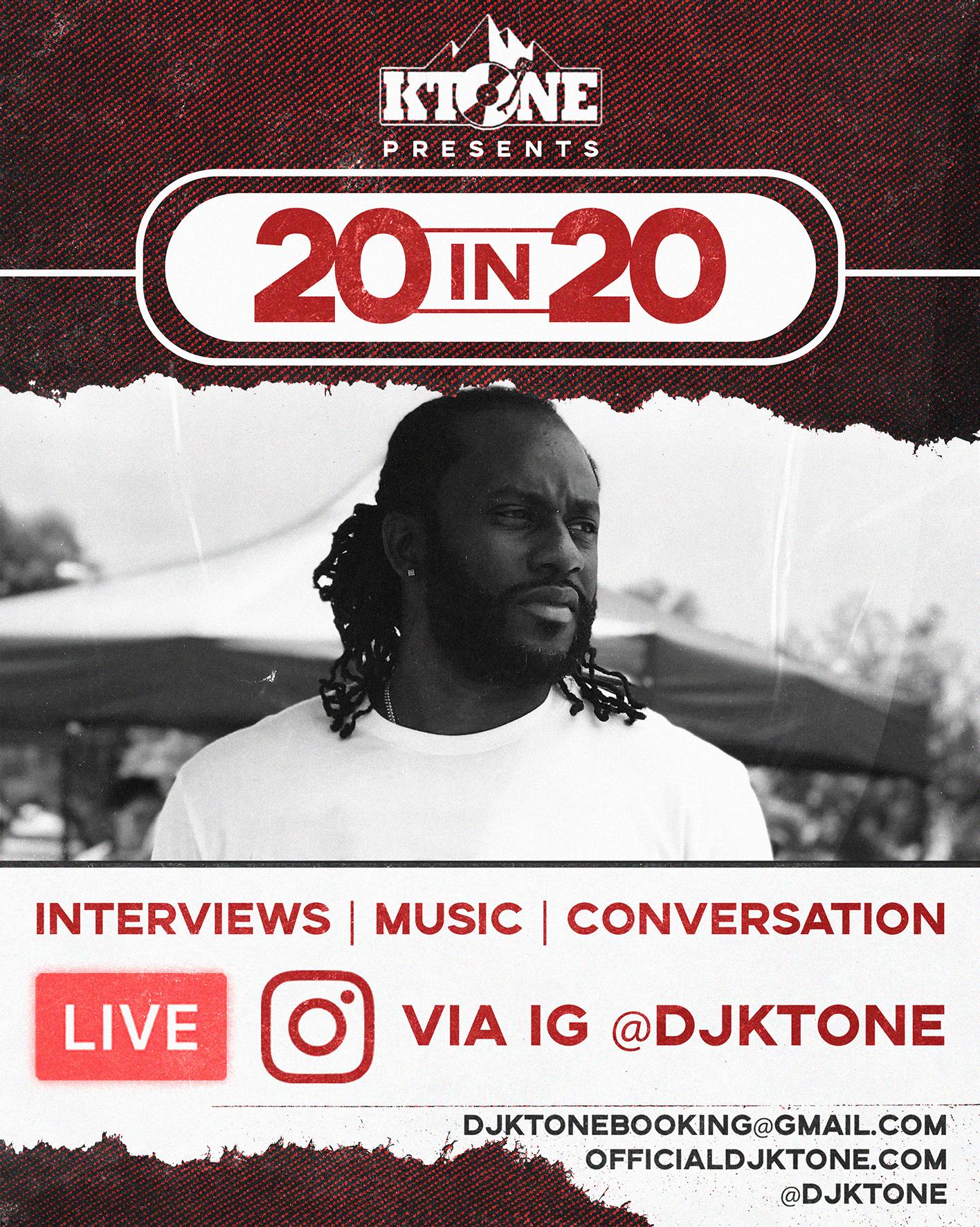 DJ Ktone 20 In 20