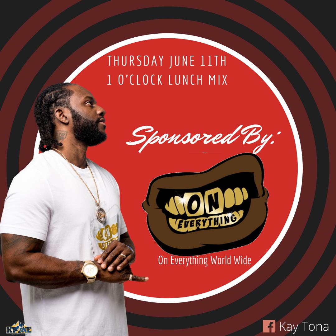 DJ Ktone 1'0 Clock Lunch mix live on Facebook. June 13, 2020